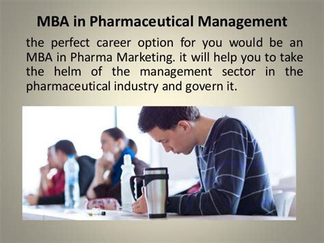Mba Pharmaceutical by Mba In Pharmaceutical Management