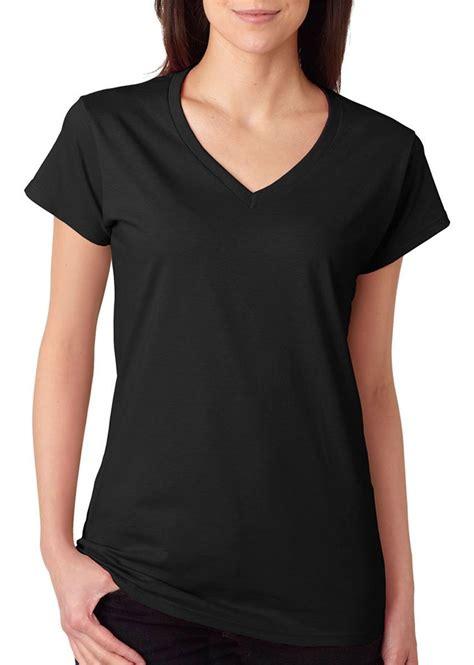 Kaospolos Gildan Softstyle V Neck gildan s fit softstyle v neck t shirt black small 64v00l at women s clothing