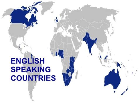 which countries speak speaking countries