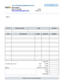 freelance invoice templates freelance invoice template word images
