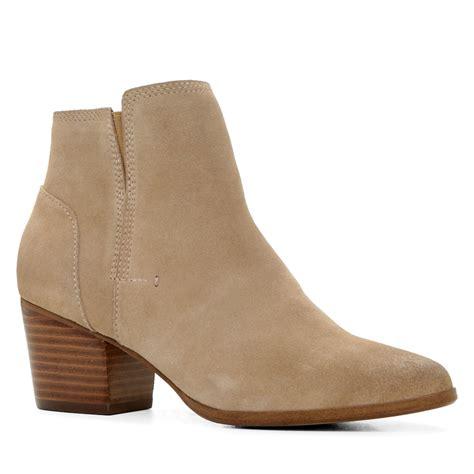 bone colored boots aldo lillianne ankle boots in beige bone lyst