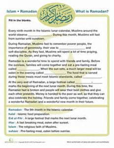 what is ramadan worksheet education com
