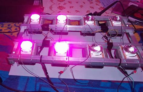 Lu Uv Buat Aquarium 100w plant grow led chip 60pcs 3w bridgelux broad spectrum 400nm 840nm ebay