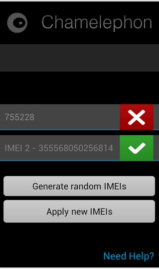 imei changer apk free imei resotore apk chamelephone all apk