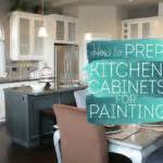how to prep kitchen cabinets for painting sound finish cabinet painting refinishing seattle how