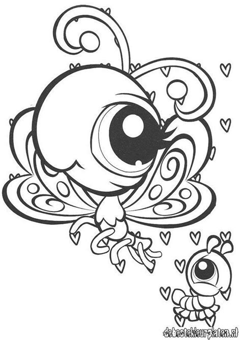 My Littlest Pet Shop Coloring Pages For Free My Littlest My Littlest Pet Shop Coloring Pages