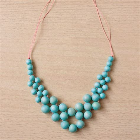 diy bead jewelry 6 projects to make with wooden handmade