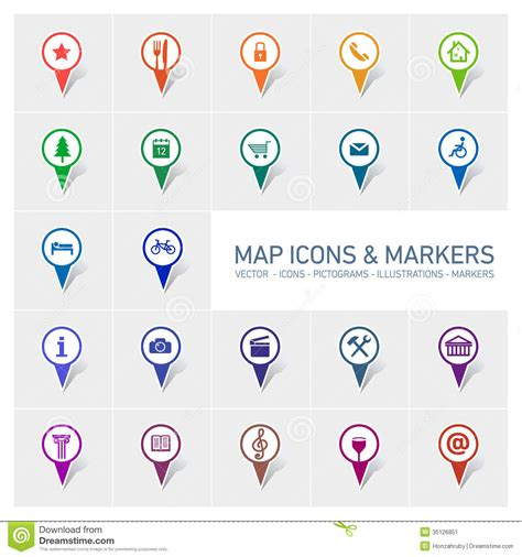 theme x google map marker map icons and markers stock illustration image of local