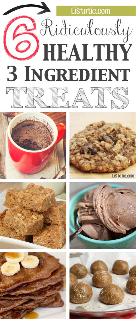 3 ingredient treats 6 ridiculously healthy but delicious 3 ingredient treats that are easy