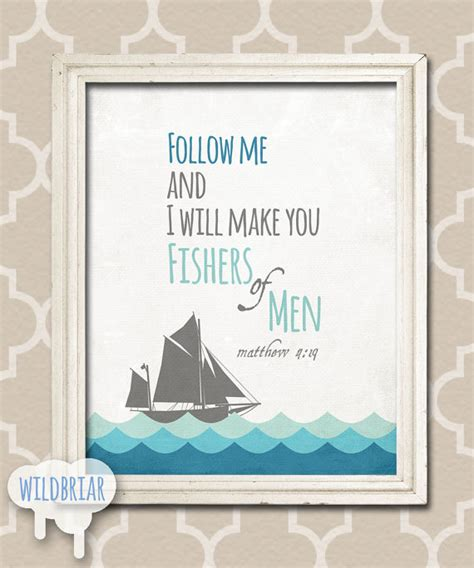 printable nautical quotes printable nursery wall art scripture quote by wildbriardesign