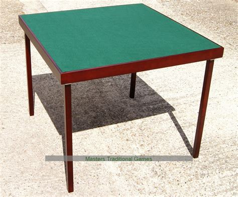 large folding card table bridge table