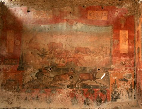 fresco animal pompeii rescue plan late to save 2 000 year wall