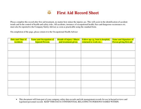 pin first aid report form template on pinterest book covers