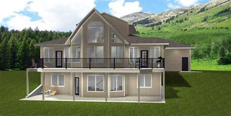 house plan    storey walkout