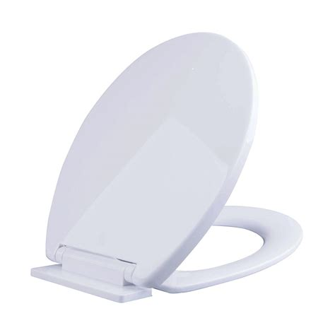 soft toilet seat soft closing oval toilet seat in white