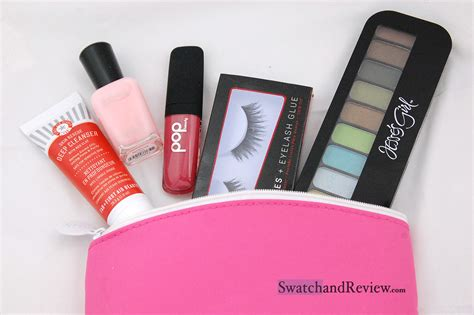 Glam Bag ipsy glam bag february 2014 review swatch and review
