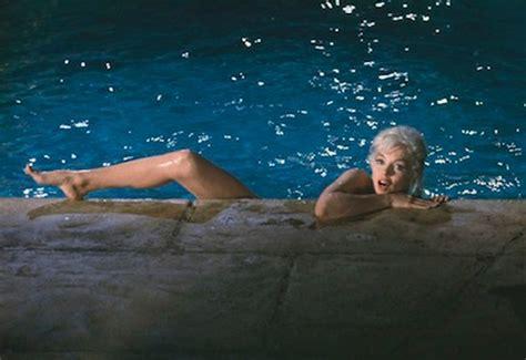 skinny dipping backyard showing nothing yet saying everything marilyn monroe s
