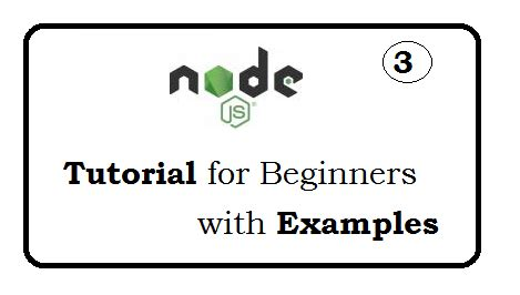node js exports tutorial web technology experts notes