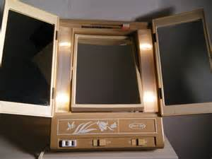 Makeup Mirror With Lights Sears Lighted Makeup Mirror Sears Best Vintage 1970s By