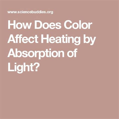 how does color affect heating by absorption of light 1000 images about projects on pizza boxes