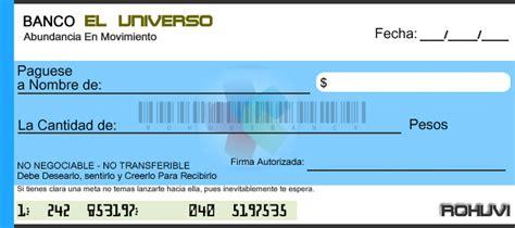 imagenes de cheques en blanco para imprimir cheque de la abundancia rohuvi10 s blog