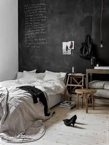 chalkboard wall in bedroom how to use black chalkboard paint in the bedroom bodie