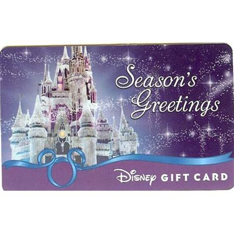 Ice Gift Card - your wdw store disney collectible gift card holiday ice castle