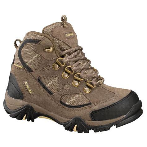 kid hiking shoes hi tec 174 renegade trail waterproof jr hiking boots
