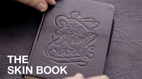 book made of synthetic skin lets beginner tattoo artists