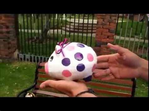 youtube como hacer una alcancia de marranito con botella plastica elaboracion de alcancias decoradas youtube