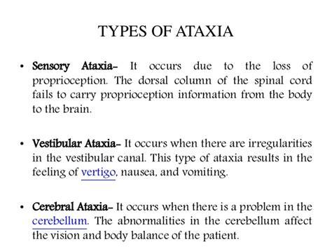 ataxia vestibular ataxia causes symptoms diagnosis and treatment