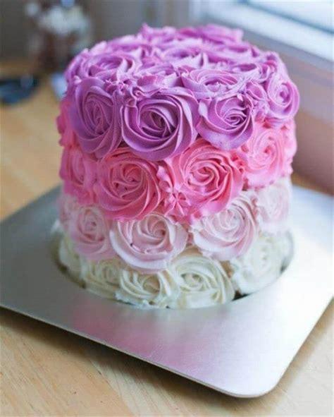 diy birthday cakes   girls diy