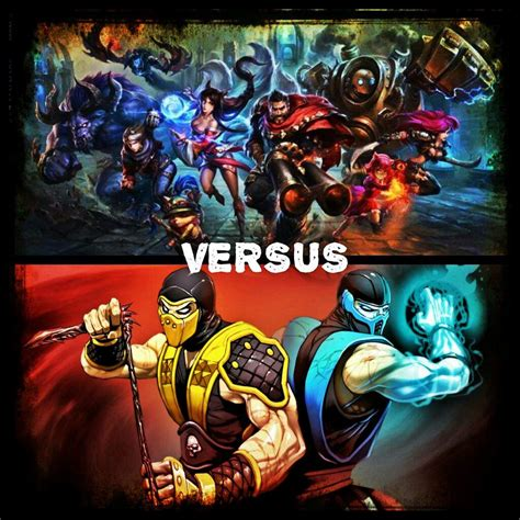 fortnite vs league of legends lol vs mortal kombat prologue fortnite free to play amino