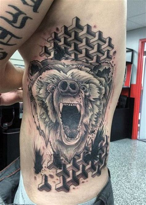 native american bear tattoos 60 designs for masculine mauling machine