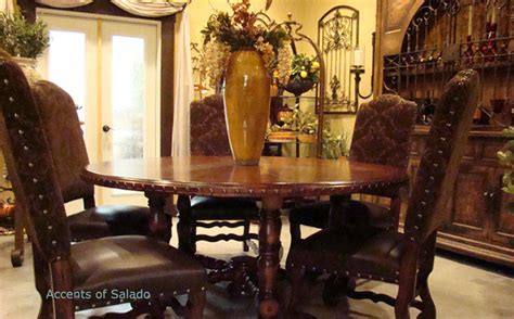 Tuscan Dining Room Chairs My World Inspired Home Ideas Italian Influence On Mediterranean Decor