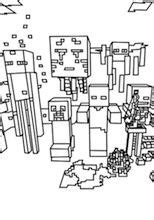 minecraft coloring pages all mobs 1000 images about minecraft on pinterest coloring pages