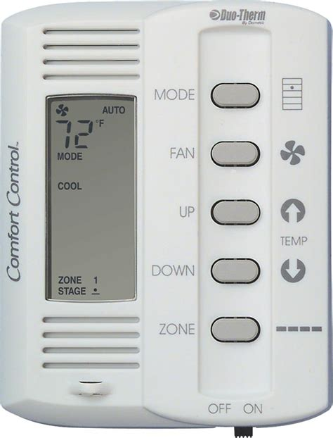 comfort control duotherm a c 5 button comfort control center new style
