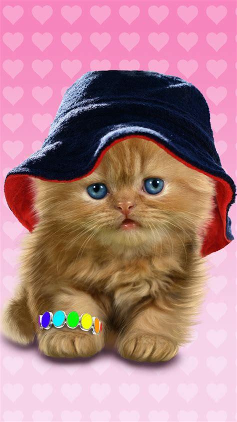 imagenes que se mueven gatos baby katze s 252 223 live wallpaper android apps auf google play
