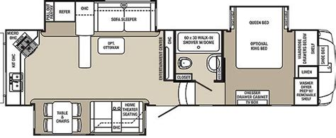 columbus rv floor plans 2015 palomino columbus 340rk fifth wheel owatonna mn