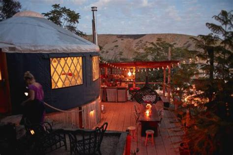 southern california family yurts  camping  comfort