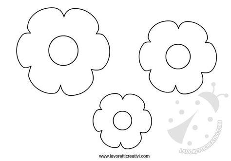 fiori da ritagliare e colorare sagome fiori da ritagliare