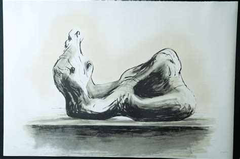 henry moore reclining woman reclining woman ii by henry moore at 1stdibs