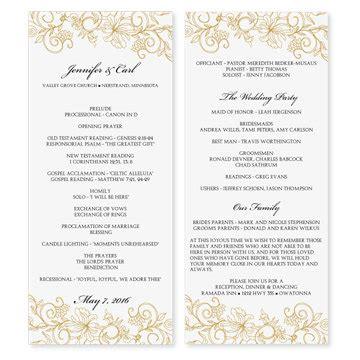 awesome free wedding menu templates for microsoft word free