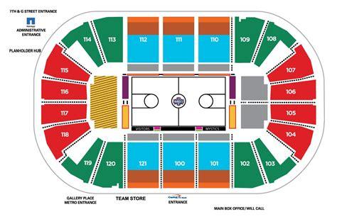 verizon center wizards seating view capital one arena seating chart capital one arena parking