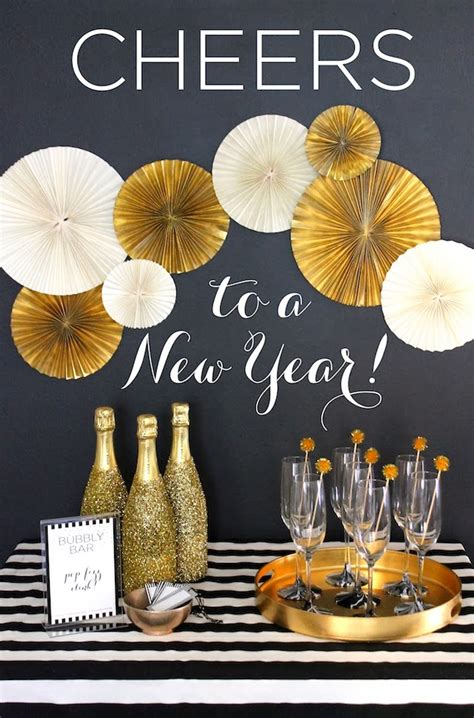 cheerful new year party decorations new year s eve party decor ideas party decor