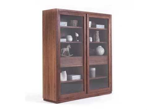 wood and glass cabinet wood and glass display cabinet kyoto glass cabinet by riva