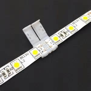 led lights connectors 3528 5050 led light solder less connector joiner