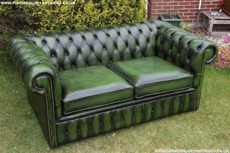 chesterfield settees second hand chesterfield settee for sale in uk view 36 bargains