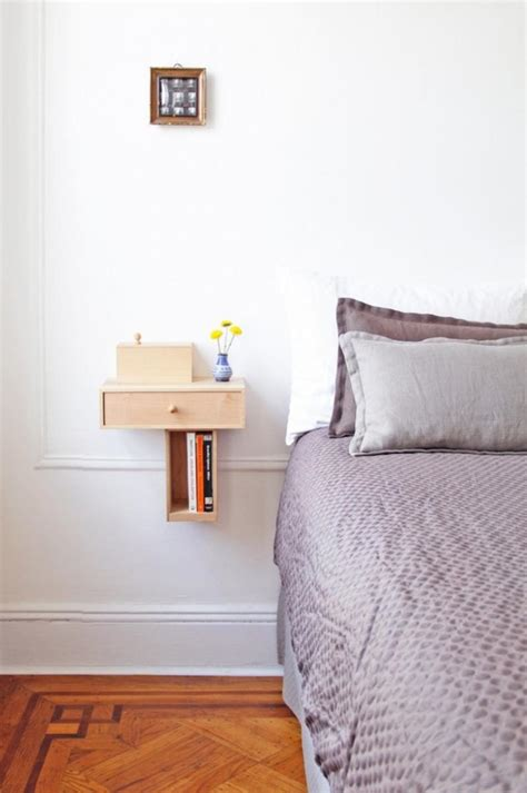 bed side 10 super chic floating bedside table designs for the