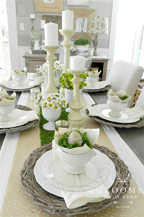 table decorations ideas 25 easter table decorations centerpieces for easter